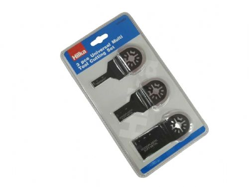 Hilka 3 piece Universal Multi Tool Cutting Set Contains: 10 x 35 x 93mm, 20 x 35